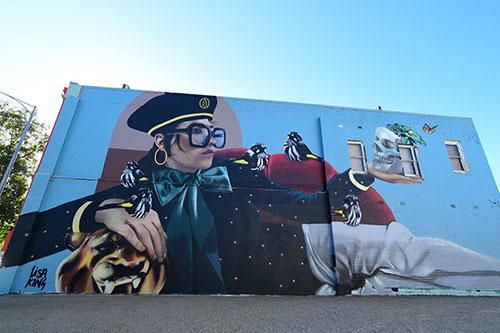 Wall to Wall Festival Murals - Benalla Street Art Wall to ...